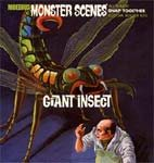 MONSTER SCENES - THE GIANT INSECT (Moebius Model Kit)