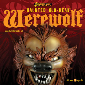 HAUNTED GLO-HEAD - WEREWOLF - Model Kit
