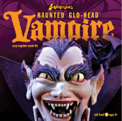 HAUNTED GLO-HEAD - VAMPIRE - Model Kit