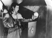 JONATHAN HAZE (Skull - NOT OF THIS EARTH) - Autographed Photo