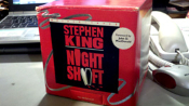 NIGHT SHIFT - STEPHEN KING CASSETTES - Box Collectible