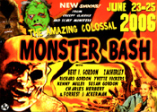 MONSTER BASH 2006 - 3X5 inch Promo Card