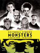 UNIVERSAL STUDIOS MONSTERS - Huge Hardback Book