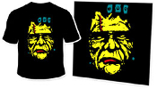 RETRO MONSTER: FRANKENSTEIN - Black T-Shirt