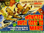 MONSTER BASH GOES TO MARS - 11X14 Lobby Card