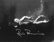 RICOU BROWNING (Creature Swims) - Autographed Photo