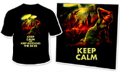 KEEP CALM, KEEP WATCHING THE SKIES - T-Shirt