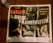 BRIDE OF FRANKENSTEIN (1935/Half Sheet) - Poster Reproduction