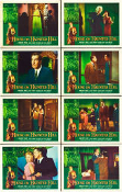 HOUSE ON HAUNTED HILL (1959/Complete 8 card set) - 11X14 Repros