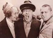 THREE STOOGES - Postcard