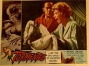 TORMENTED (1960/Scream!) - Original Lobby Card