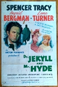 DR. JEKYLL AND MR. HYDE (1941/Am. One Sheet) - Original Poster
