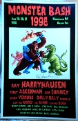 MONSTER BASH 1998 (Ray Harryhausen) - Autographed Poster