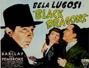 BLACK DRAGONS (Bela Lugosi) - 22 X 28 color Poster Reproduction