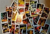 MOVIE POSTER CARDS (Set of 28) - Trading Cards