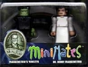 MINI-MATES (Frankentein Monster - Dr. Frankenstein) - Figures