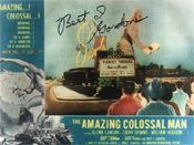 BERT I. GORDON (Amazing Colossal Man) - 8X10 Autographed Photo