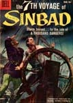7th VOYAGE OF SINBAD - Used Vintage Dell Comic Book