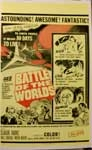 BATTLE OF THE WORLDS - 14 X 20 Window Card Reproduction
