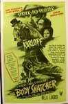 BODY SNATCHER, THE - 14 X 20 Window Card Reproduction