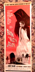 BURN WITCH BURN  (1962) - Original Insert Poster