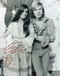 CAROLINE MUNRO (with Horst Janson) - 8X10 Autographed Photo