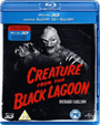 CREATURE FROM THE BLACK LAGOON (1954/UK Region 0) - Blu-Ray