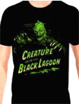 CREATURE FROM THE BLACK LAGOON (Green-Yellow) - T-Shirt