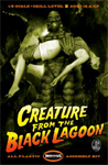 CREATURE FROM THE BLACK LAGOON - Moebius Deluxe Model Kit