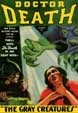 DOCTOR DEATH (March 1935) - Pulp Magazine Reprint