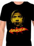 DRACULA (Yellow-Red) - Black T-Shirt