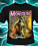 GODZILLA FAMOUS MONSTER - T-Shirt