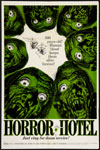 HORROR HOTEL (1960/One Sheet) - 11X17 Poster Reproduction