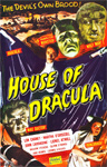 HOUSE OF DRACULA (1945/Real Art Style) - 11X17 Poster Repro
