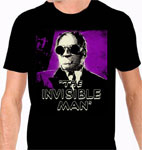 INVISIBLE MAN (Black & Purple) - T-Shirt