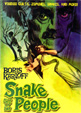 ISLE OF THE SNAKE PEOPLE (1968/CZ) - DVD