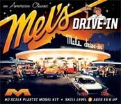 MEL'S DRIVE-IN (American Graffitti) - Model Kit