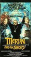MERLIN AND THE SWORD (1982) - Used VHS