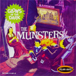 MUNSTERS, THE - GLOWS - All Plastic Model Kit