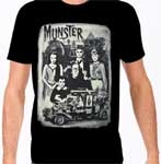 MUNSTERS GO HOME (Family Portrait) - T-Shirt