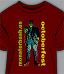 MONSTER BASH OCTOBERFEST FRANKENSTEIN - T-Shirt