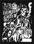 CRIMSON GHOST - Collectible Denim Patch