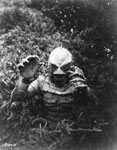 RICOU BROWNING: CREATURE - 8X10 Autographed Photo