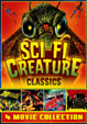 SCI-FI CREATURE CLASSICS (Four Movie Set)  - DVD
