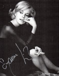 SUZANNA LEIGH (Cigarette Pose) - Autographed Photo