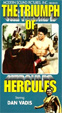 TRIUMPH OF HERCULES (1964) - Used VHS
