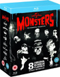 UNIVERSAL CLASSIC MONSTERS - ESSENTIAL (UK Edition) - Blue Ray