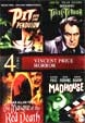 VINCENT PRICE HORROR COLLECTION (4 Films) - DVD