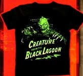 CREATURE FROM THE BLACK LAGOON (Emerging from Water) - T-Shirt