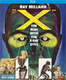 """X"" - THE MAN WITH X-RAY EYES (1963) - Blu-Ray"